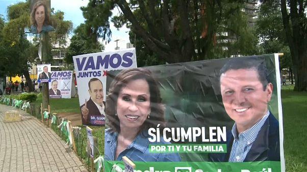 Guatemala elige presidente