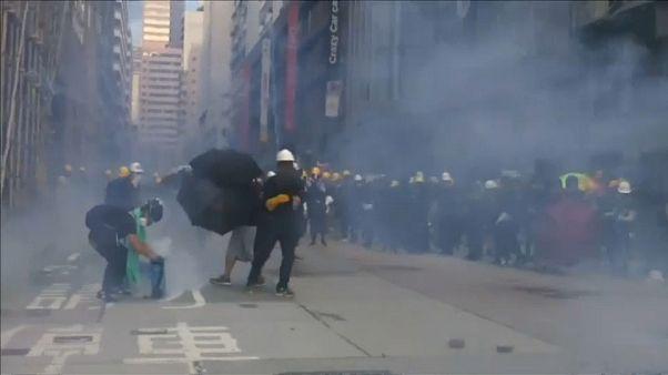 Dez semanas de protestos em Hong Kong