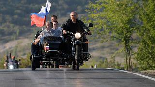 Путин в Крыму — Украина негодует