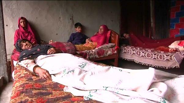 عائلة الطفل علي في باكستان