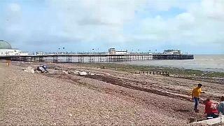 Mérgezésveszély miatt zártak le egy brit strandot