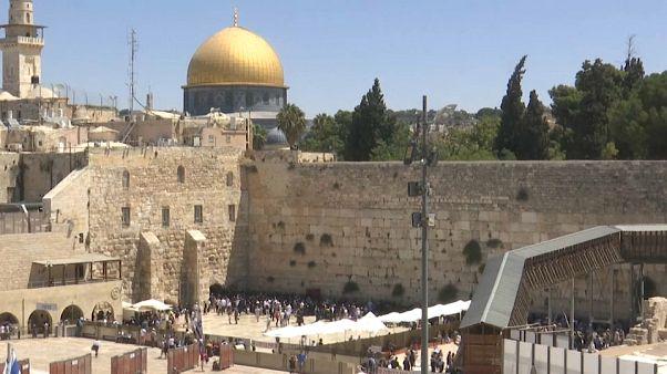 ویدئو؛ خشونت و درگیری در روز عید قربان و تیشا بئاو در بیتالمقدس