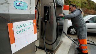 Portekiz'de tanker şoförleri greve gitti, akaryakıt istasyonlarında benzin kalmadı