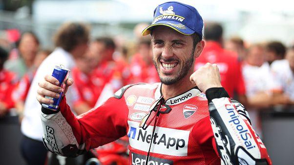 MotoGP in Austria: Dovizioso brucia Márquez