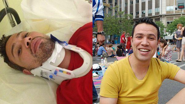 نضال بلعربي، حكم رياضي و المتحدث باسم جمعية شمس التونسية المدافعة عن حقوق المثليين