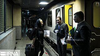 قطار تهران-آنکارا پس از چهار سال توقف دوباره به راه افتاد