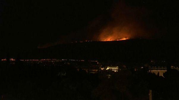 57 Waldbrände seit Samstag - Feuer bei Athen gelöscht