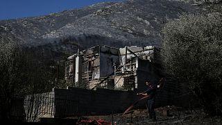 La Grèce fait face à plus de 50 incendies de forêt