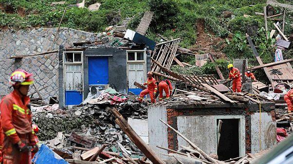 Çin vuran Lekima Tayfunu'nda bilanço ağırlaşıyor: En az 44 ölü