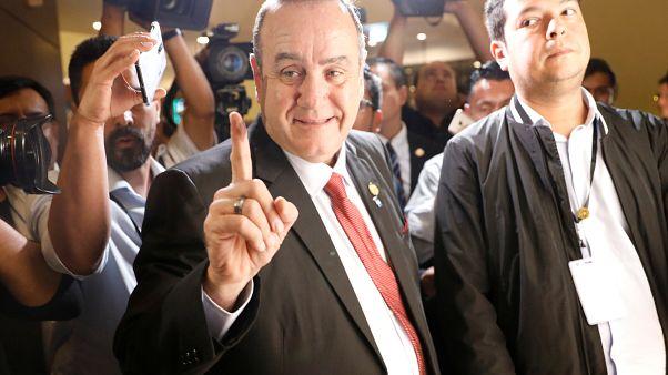 Alejandro Giammattei, o conservador eleito presidente da Guatemala