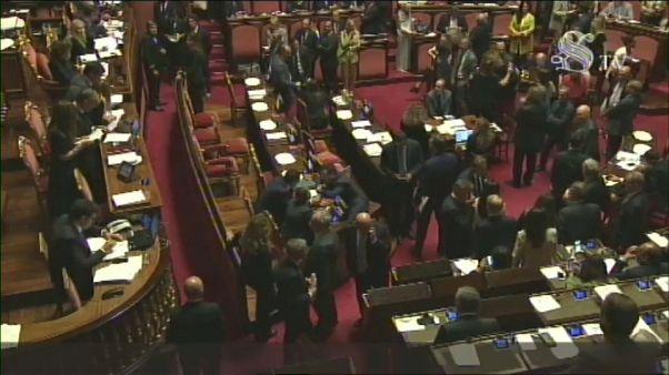 Crisi: nessun accordo tra i capigruppo, parola ai senatori