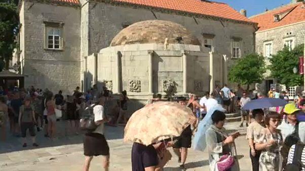Tetőzött a kánikula Horvátországban