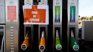 Portekiz  hükümetinden greve giden yakıt tankeri şoförlerine 'hapis cezası' adımı