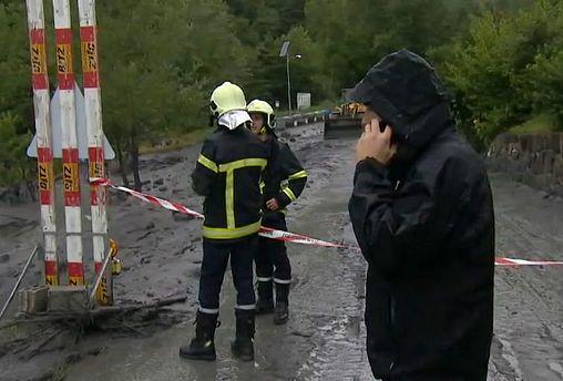 Infructuosa búsqueda de los desaparecidos tras una violenta tormenta en Suiza
