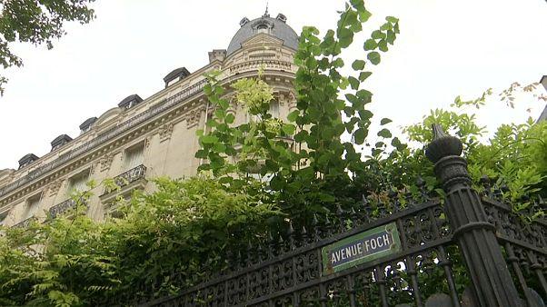 L'appartement parisien de Jeffrey Epstein, près de l'Arc de Triomphe.
