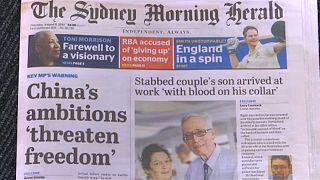 A náci Németországhoz hasonlította Kínát egy ausztrál képviselő