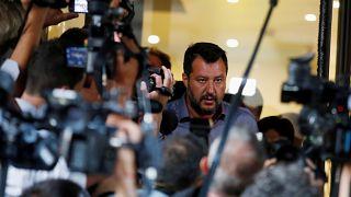 Árulással vádolja a cserbenhagyott olasz kormánypárt vezetője Matteo Salvinit