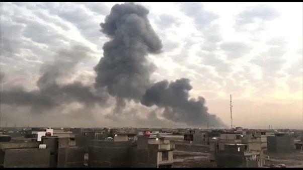 شاهد: انفجار في مخزن أسلحة في بغداد يسفر عن مقتل شخص وإصابة 29 آخرين