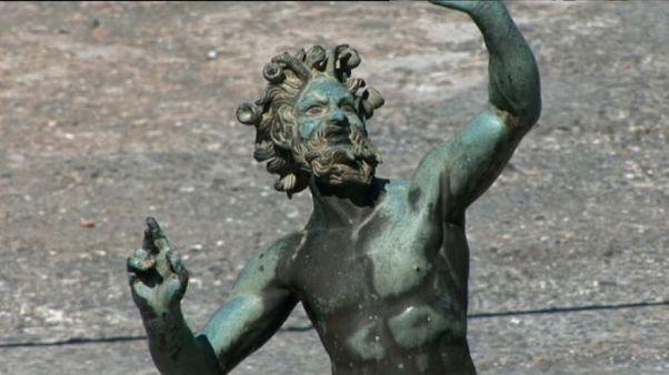 """Archäologen entdecken """"Zauberschatzkammer"""" in Pompeji"""