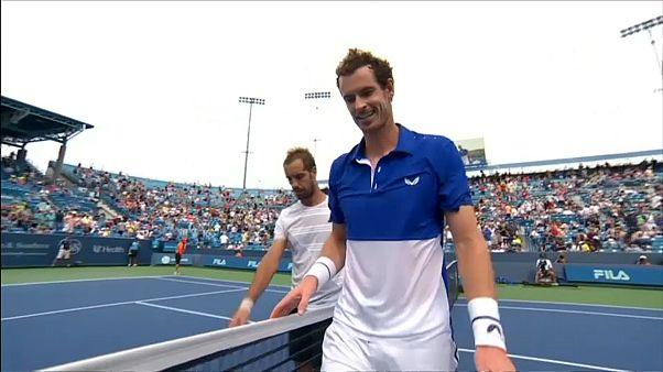À Cincinnati, Andy Murray encore trop court après son retour en simple