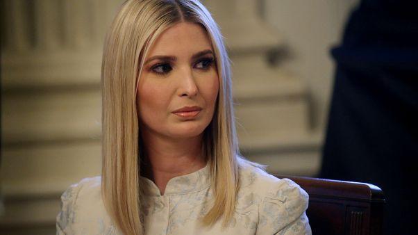 إيفانكا ترامب ابنة الرئيس الأمريكي دونالد ترامب