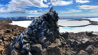 Islande :  un glacier disparu, monument pour sensibiliser les générations futures
