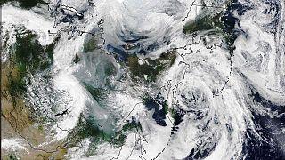 El humo de los incendios en Siberia ha cubierto una superficie mayor a la de la Unión Europea