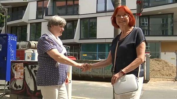 """Treptower """"Mauermädchen"""": Nach 58 Jahren wiedervereint"""
