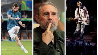 Prominente Linkshänder: Leo Messi, Fidel Castro und Kurt Cobain