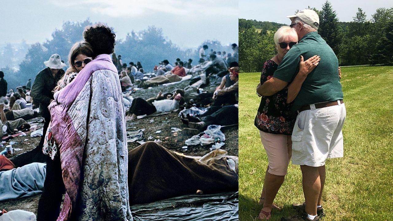 Casal de Woodstock: 50 anos depois, a mesma ternura
