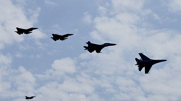 جنگنده ناتو از نزدیک هواپیمای حامل وزیر دفاع روسیه عقب رانده شد