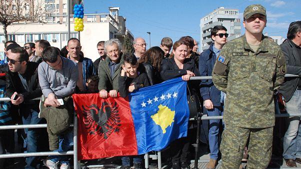 Kosova'nın bağımsızlık günü Priştina'da kutlandı