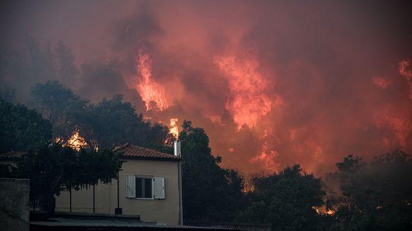 Φωτιά στην Εύβοια: Σε κατάσταση έκτακτης ανάγκης το νησί - Αναμένεται ευρωπαϊκή βοήθεια