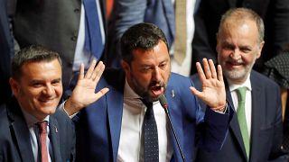 Leszavazták Salvini javaslatát a Szenátusban