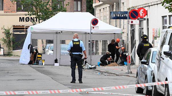 جوان سوئدی به ظن دست داشتن در انفجار مقابل اداره مالیات دانمارک بازداشت شد