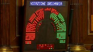 Semana política decisiva em Itália