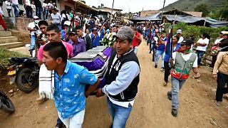 Aumenta la violencia contra los indígenas nasa de Colombia