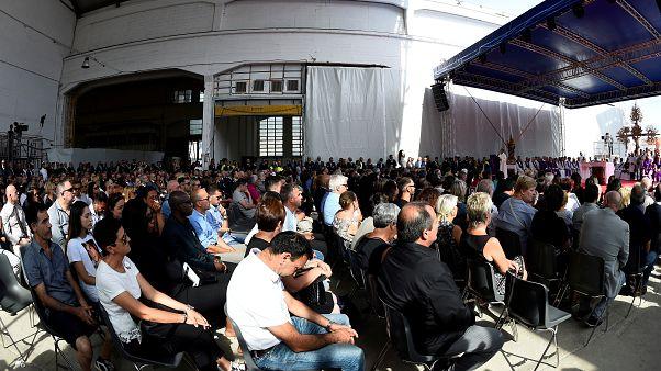 Génova de luto em aniversário da queda da ponte Morandi