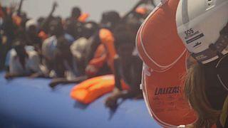 Migrants en méditerranée : quelques évacuations avant une tempête