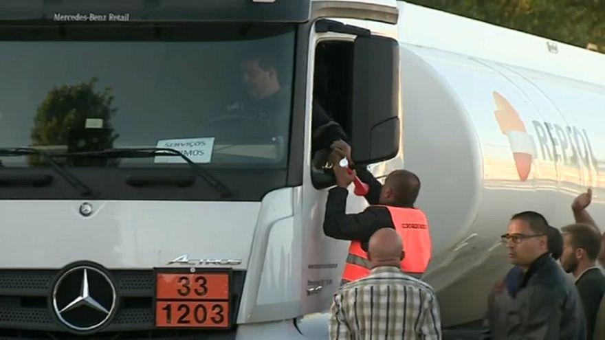 3. Streiktag von Gefahrgutfahrern: Fronten sind verhärtet