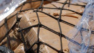 Plus d'une tonne de cocaïne saisie au Havre, pour un montant estimé à 74 millions d'euros