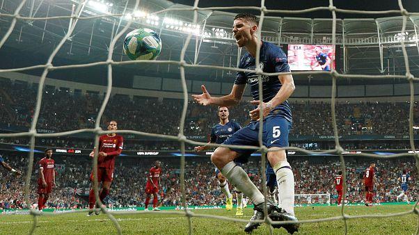 """""""Reds"""" conquistam Supertaça europeia"""