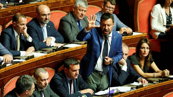 Italian Senate rejects request for immediate no-confidence vote debate