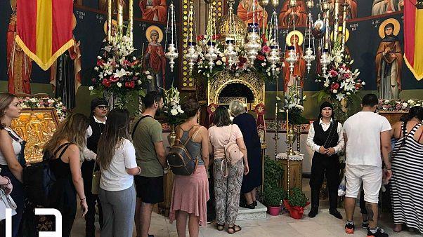 Παναγία Σουμελά: Πλήθος πιστών στην λιτανεία και τον εσπερινό