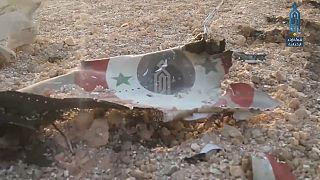 Syrisches Kampfflugzeug vom Typ Sukhoi 22 abgeschossen