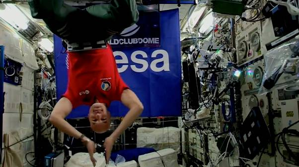 Astro-DJ Luca Parmitano an Bord  der ISS