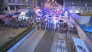 "China acusa manifestantes de Hong Kong de ""quase terrorismo"""