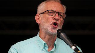 Jeremy Corbyn busca apoyos para una moción de confianza contra Boris Johnson