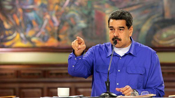 مادورو: رئیس جمهور اسبق کلمبیا با ۳۲ مزدور بهدنبال ترور من بود