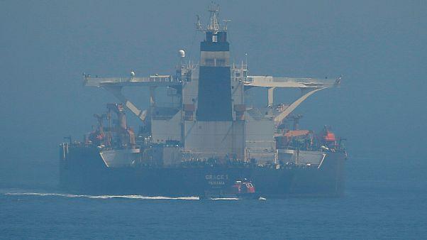 Cebelitarık'ın 4 Temmuz'da el koyduğu İran'a ait Grace 1 petrol tankeri